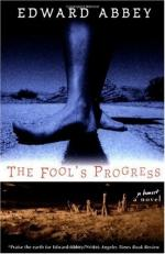 The Fool's Progress: An Honest Novel by Edward Abbey