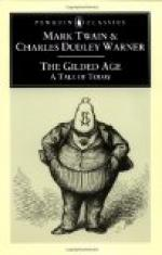The Gilded Age: A Tale of Today by Mark Twain