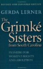 The Grimké Sisters by