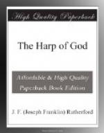 The Harp of God by Joseph Franklin Rutherford