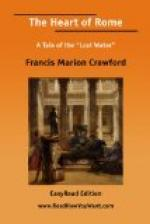 The Heart of Rome by Francis Marion Crawford