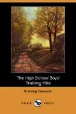 The High School Boys' Training Hike by H. Irving Hancock
