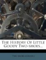The History of Little Goody Two-Shoes by