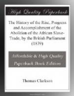 The History of the Rise, Progress and Accomplishment of the Abolition of the African Slave-Trade, by the British Parliament (1839) by Thomas Clarkson