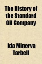 The History of the Standard Oil Company by