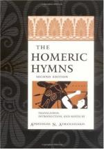 The Homeric Hymns by Andrew Lang
