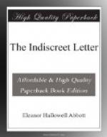 The Indiscreet Letter by Eleanor Hallowell Abbott