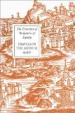 The Itinerary of Benjamin of Tudela by Benjamin of Tudela