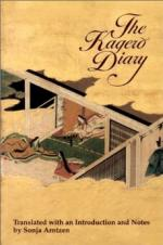 The Kagero Diary: A Woman's Autobiographical Text from Tenth-century... by Edward Seidensticker