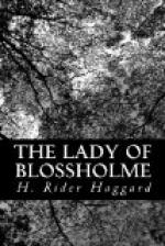 The Lady of Blossholme by H. Rider Haggard