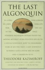 The Last Algonquin by Theodore L. Kazimiroff