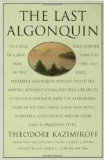 The Last Algonquin by Theodore L. Kazimiroff