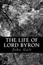 The Life of Lord Byron by John Galt