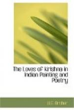 The Loves of Krishna in Indian Painting and Poetry by