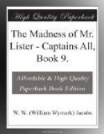 The Madness of Mr. Lister by W. W. Jacobs