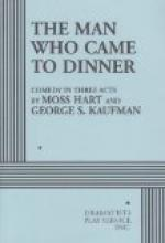 The Man Who Came to Dinner by