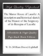 The Manor House of Lacolle by