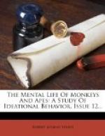 The Mental Life of Monkeys and Apes by Robert Yerkes