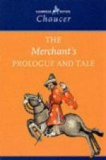 The Merchant's Prologue and Tale by