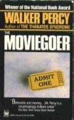 The Moviegoer by Walker Percy