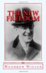 The New Freedom by Woodrow Wilson
