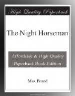 The Night Horseman by Max Brand