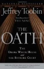 The Oath: The Obama White House and the Supreme Court by Jeffrey Toobin