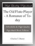 The Old Flute-Player by