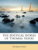 The Poetical Works of Thomas Hood by Thomas Hood