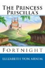 The Princess Priscilla's Fortnight by Elizabeth von Arnim