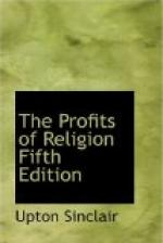 The Profits of Religion, Fifth Edition by Upton Sinclair