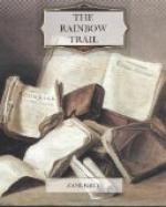 The Rainbow Trail by Zane Grey