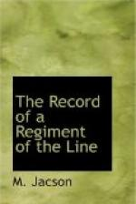 The Record of a Regiment of the Line by