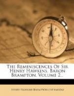 The Reminiscences of Sir Henry Hawkins (Baron Brampton) by Henry Hawkins, 1st Baron Brampton
