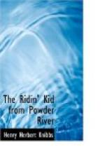 The Ridin' Kid from Powder River by