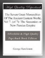 The Seven Great Monarchies Of The Ancient Eastern World, Vol 7. (of 7): The Sassanian or New Persian Empire by George Rawlinson