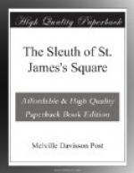 The Sleuth of St. James's Square by