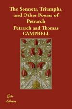 The Sonnets, Triumphs, and Other Poems of Petrarch by Petrarch