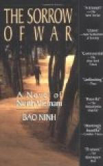 The Sorrow of War: A Novel of North Vietnam by Bao Ninh