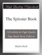 The Spinster Book by Myrtle Reed