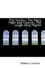 The Station; The Party Fight And Funeral; The Lough Derg Pilgrim by William Carleton