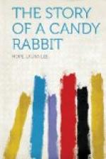 The Story of a Candy Rabbit by Laura Lee Hope