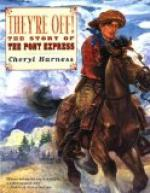 The Story of the Pony Express by