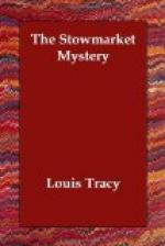 The Stowmarket Mystery by Louis Tracy