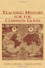 The Teaching of History by