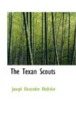 The Texan Scouts by Joseph Alexander Altsheler