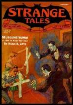 The Thing That Walked on the Wind by August Derleth
