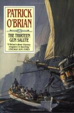 The Thirteen-gun Salute by Patrick O'Brian