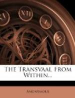 The Transvaal from Within by