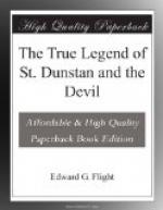 The True Legend of St. Dunstan and the Devil by